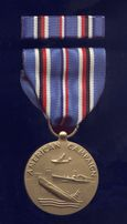 American Campaign Medal, World War II
